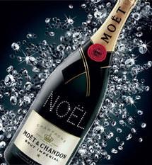 atelier moet chandon swarovski - Atelier Moët - Champagnerflaschen mit Swarovski Kristallen individualisiert