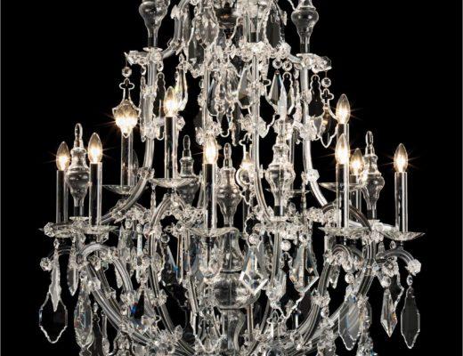 kronleuchter leuchter kristall 520x400 - Luxuriöse Kronleuchter von Wiener Manufaktur