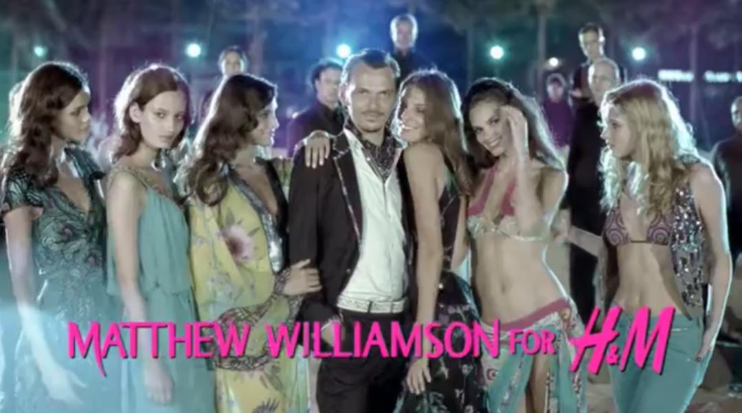 matthew williamson h m kollektion 1080x602 - Matthew Williamson schneidert für H&M