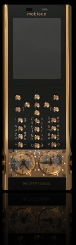 mobiado 105gmt gold handy - Mobiado 105GMT Gold - Luxushandy mit mechanischen Uhren
