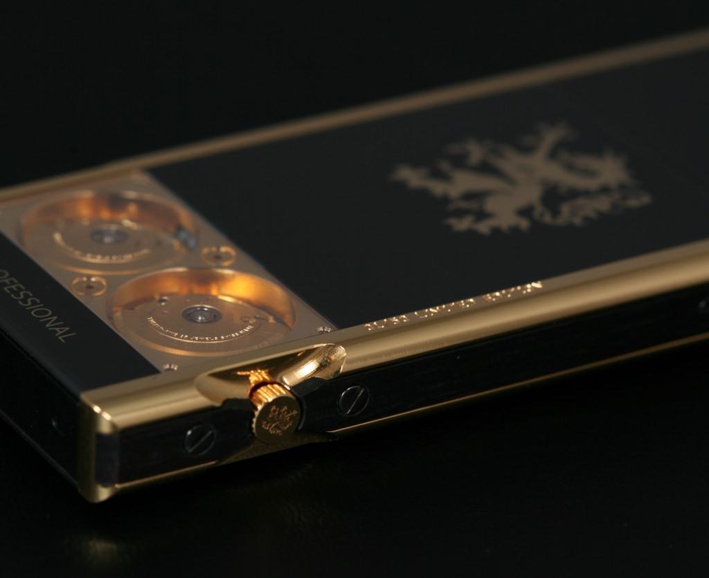 mobiado 105gmt gold - Mobiado 105GMT Gold - Luxushandy mit mechanischen Uhren