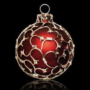 teuerste weihnachtskugel luxus gold diamanten - Luxus-Weihnachtskugel mit Gold und 5 Karat Diamanten