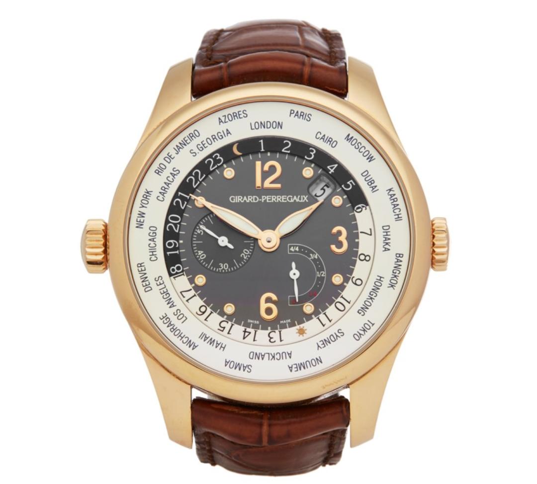 Girard Perregaux Chronograph 1080x974 - Erste Girard-Perregaux Uhren der Kollektion 2009 vorgestellt
