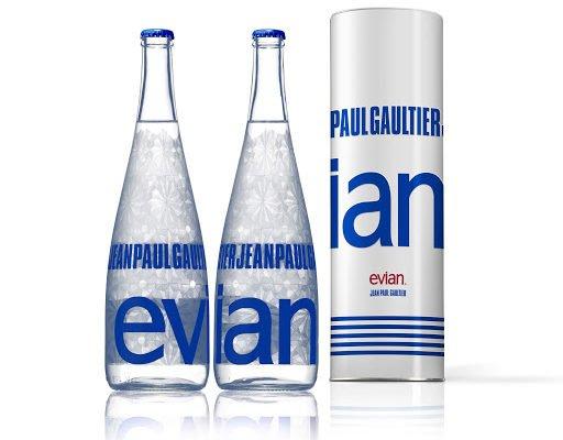 evian flasche jean paul gaultier 512x400 - Jean Paul Gaultier designt für Evian