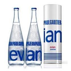 jean paul gaultier evian - Jean Paul Gaultier designt für Evian