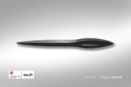 purisme letter opener2 - PURISME Carbon Luxusaccessoires
