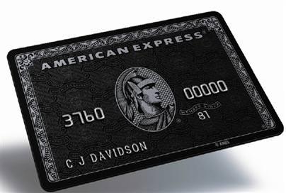 centurion card black amex - Die Schwarze American Express Card - der Ferrari unter den Kreditkarten
