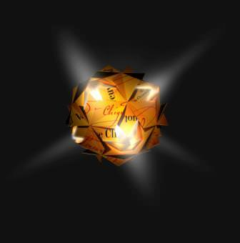 "veuve clicquot comet lamp by tom dixon - VEUVE CLICQUOT DESIGNBOX & DAS DESIGN PROJEKT ""OUT OF THE BOX"""