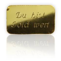 golbarren gravur - Goldbarren mit individueller Gravur – Eine glänzende Geschenkidee
