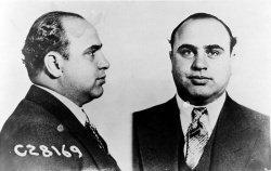 Al Capone bei seiner Verhaftung