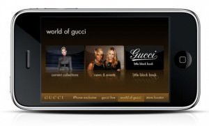 Die Gucci iPhone App