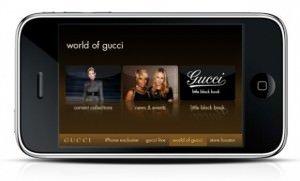 gucci iphone app ipod 300x181 - Gucci iPhone App