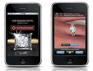 juwelier iphone app - Live Diamond Try-On - Mit der App Ringe anprobieren