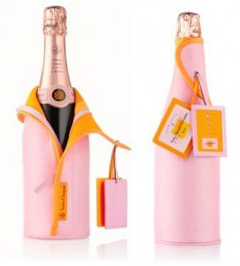 Veuve Cliquot rose Ice Dress