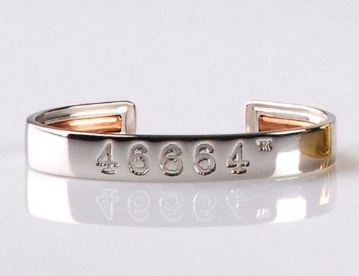 46665 montblanc armband nelson mandela 520x400 - 46664 Bangles: Luxus-Armreif für Nelson Mandelas guten Zweck