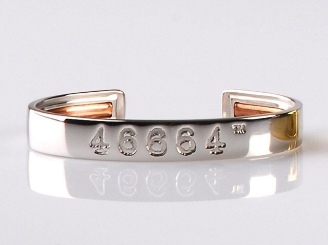 46665 montblanc armband nelson mandela - 46664 Bangles: Luxus-Armreif für Nelson Mandelas guten Zweck