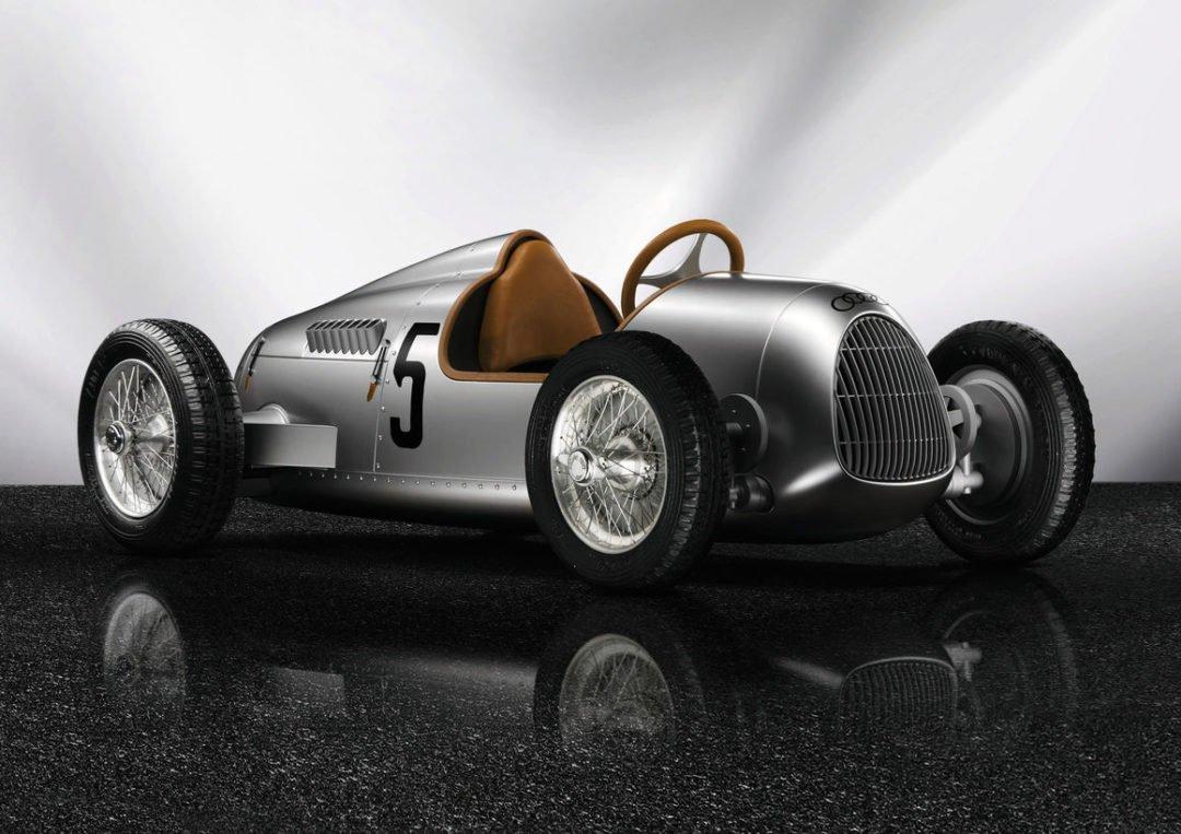 audi luxus tretauto union typ c 1080x763 - Das Spielzeug der Extra-Klasse: Das Tretauto von Audi