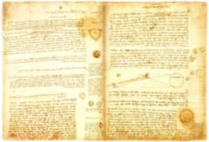 Codex Hammer by wiki - Der Codex Leicester – Das teuerste historische Buch der Welt