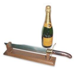 champagnersäbel by worldwide luxus - Laguiole Rossignol: Den Champagner mit dem Säbel köpfen