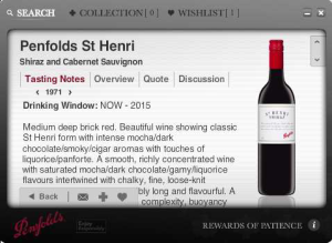 """The Reward of Patience - Penfolds: Wein-Ratgeber """"The Reward of Patience"""" nun als App"""