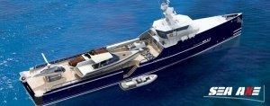 sea axe © Amels Holland1 - Sea Axe FYS: Versorgungsschiff für Luxus-Yachten