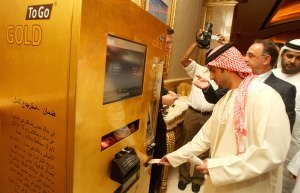 Goldautomat by gold to go - Gold to Go – Ein Goldautomat in Abu Dhabi