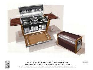 Rolls Royce Luxus Picknick Korb by luxist © Rolls Royce - Picknick deluxe: Der Rolls Royce Picknick-Korb