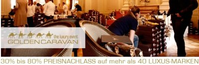 GoldenCaravan Shopping Event - Golden Caravan in München: Shopping-Event vor Weihnachten