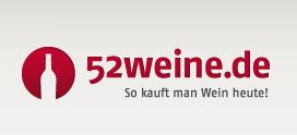 """52weine logo 52 weine - 52weine - Der """"Weinclub für Entdecker"""""""