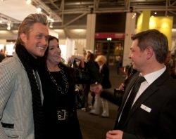 Nico Schwanz Katy Karenbauer Jürgen Heinz Foto Messe München - Neue Messe München: Prominente feiern für den guten Zweck