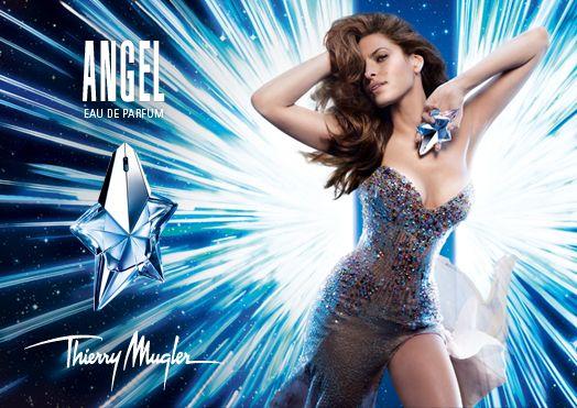 "eva mendes angel thierry mugler parfum ad - Thierry Mugler: Eva Mendes wirbt für Parfum ""Angel"""