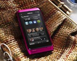 Nokia N8 Pink Bild Nokia - Nokia N8 in Pink