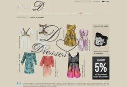 Screenshot Style by D - Style by D: Luxus-Onlineshop mit Persönlichkeit