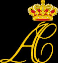 Prince Albert and Princess Charlene of Monaco Logo by wikimedia Glasshouse - Das Hochzeitsmenü des Fürstenpaars in Monaco