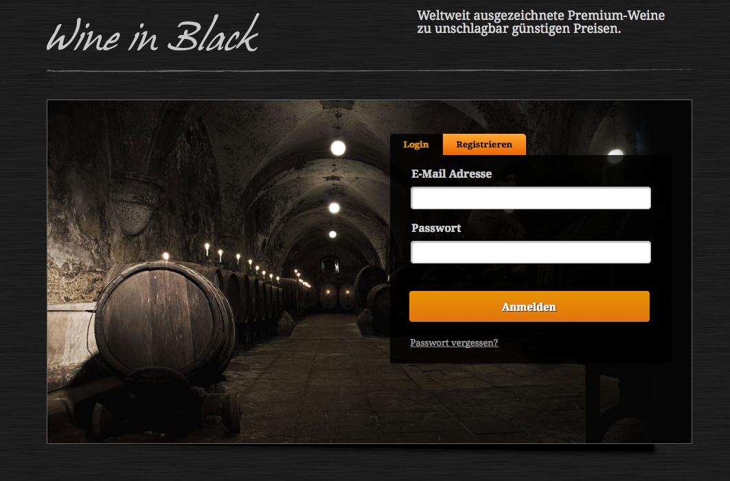 Wine in Black - Wine in Black - Einstiegsdroge in die Welt der Spitzenweine