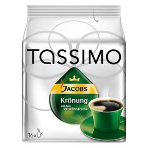 jacobs kroenung tassimo pads disc kapseln - Jacobs Krönung, ein Verwöhnaroma auf Knopfdruck mit Tassimo System