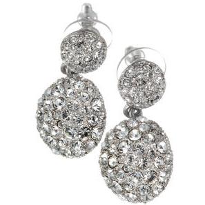 JENNY`S Ohrhänger mit Swarovski-Kristallen
