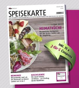 tip Edition Speisekarte 2012