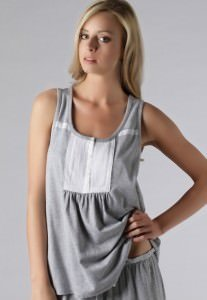 donna karan dkny white heat top grau 207x300 - Highlights der DKNY Damen Kollektion 2012