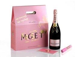 Moët Hennessy - Moët & Chandon Rosé Impérial: Spezielle Edition zum Valentinstag