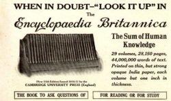 Anzeige aus dem Jahr 1913, Quelle: wikimedia