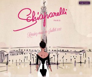 Screenshot schiaparelli.com