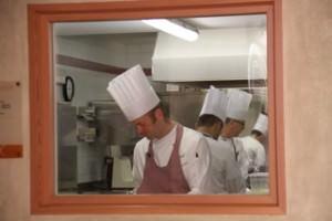 Blick in die Gourmetküche