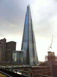 """The Shard by wikimedia Bjmullan - Höchstes Haus Europas: Eröffnungsfeier für """"The Shard"""""""