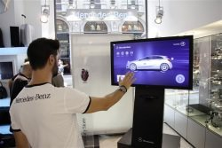 """mercedes visionary store - Mercedes-Benz: Erster """"Visionary Store"""" in Mailand"""