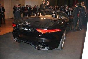 Jaguar F-Type Back