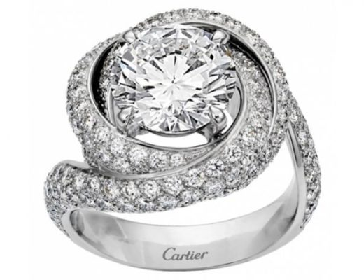 cartier trinity ruban ring diamantring 520x400 - Cartier: Cocktailring Trinity Ruban