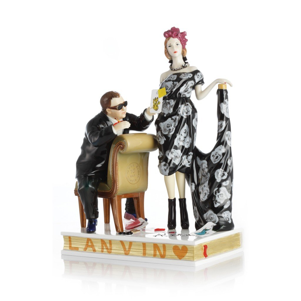 miss lanvin porzellanfiguren - Miss Lanvin: Porzellanfiguren aus dem Modehaus