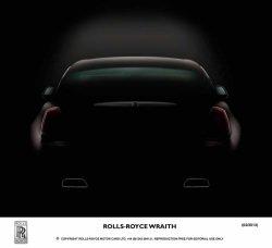 Rolls Royce Wraith adequate power sir lowres - Rolls-Royce Wraith: Weiteres Bild des neuen Luxusautos