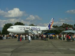 A300 Zero G by wikimedia borsi112 - Schwerelosigkeit: Erster kommerzieller Parabelflug in Europa
